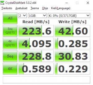 Parity 2x3TB+2TB NTFS SS