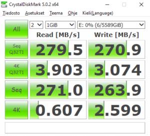 Stripe 2x3TB NTFS